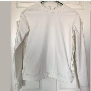 Lululemon Departure Top Pullover Ghost SZ 4